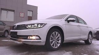 2017 Volkswagen Passat. Start Up, Engine, and In Depth Tour.