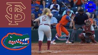 #10 Florida State vs #7 Florida   2020 College Softball Highlights