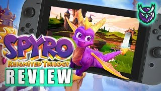 Spyro Reignited Trilogy Nintendo Switch Review (Video Game Video Review)