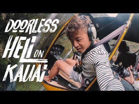 Napali Coast & Mt. Waialeale Helicopter Tour on kauai. Doors off!!   Mauna Loa Helicopter Tours