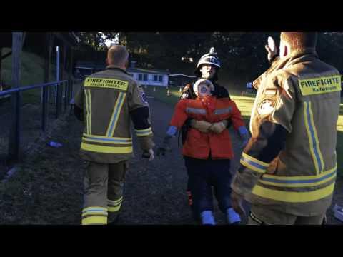 Firefighter Kaifenheim: RZ-Reporter trainiert mit