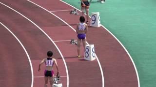 平成29年度 全国高校陸上北九州地区大会 女子4x100mR決勝