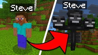 How To Become Any Mob in Minecraft Pocket Edition (1.2+)