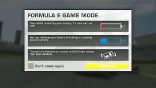 Real Racing 3 - Formula E gameplay