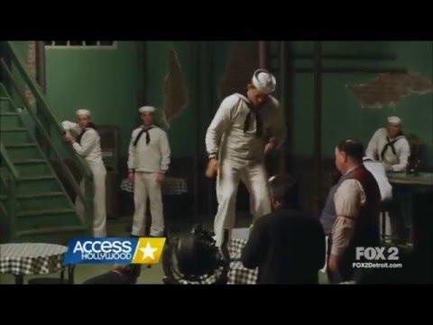 Channing Tatum filming his tap dance scene in Hail, Caesar!