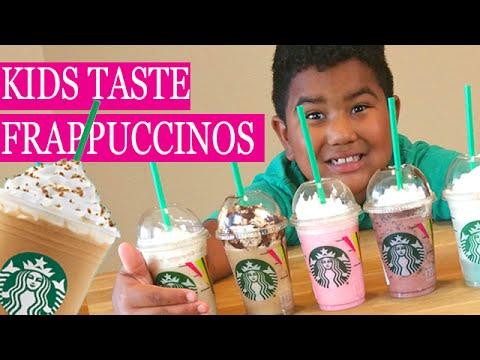 Best Frappuccino Flavor Kids Taste The 20th Anniversary Flavors