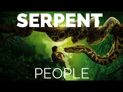 THE SERPENT PEOPLE !!!