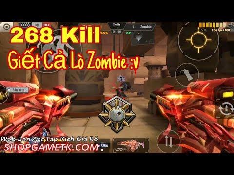 """Tập Kích - Săn """" CHÓ """" 268 Kill . Giết Cả Lò Nhà Zombie Cùng Phúc Xấu Trai✔️"""