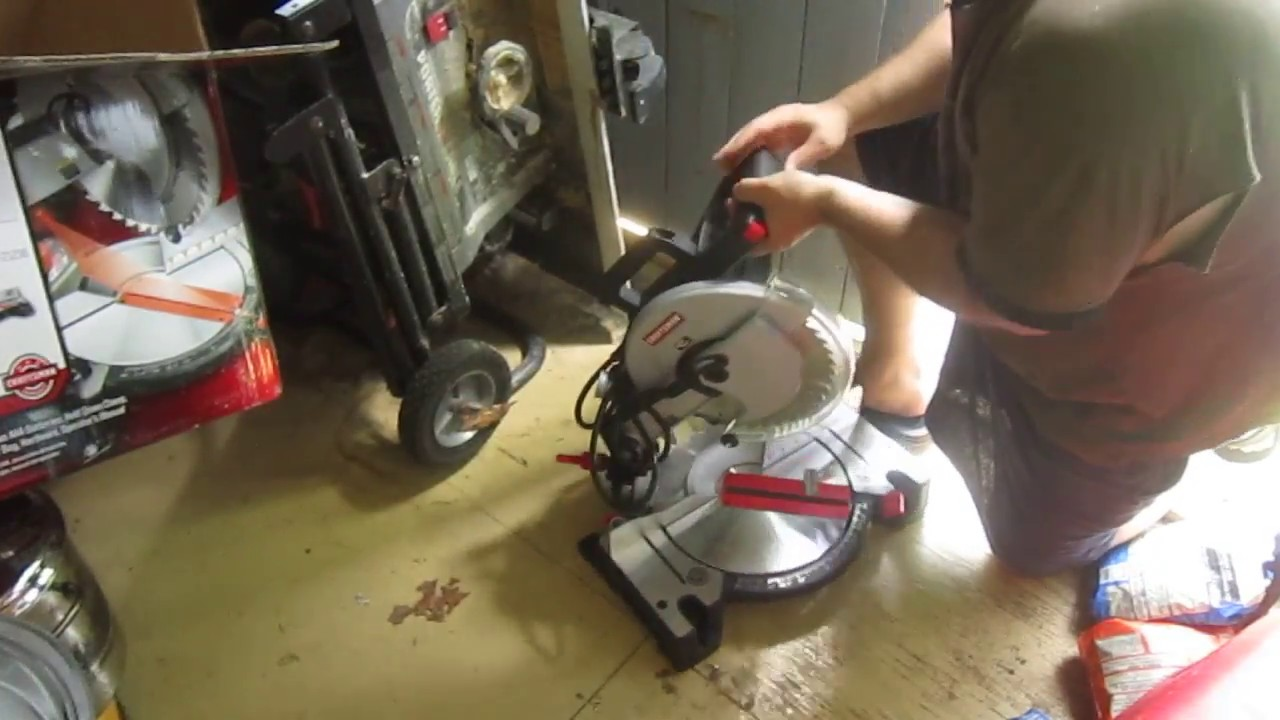 Craftsman 10 Inch Compound Miter Saw Model 315