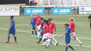 HIGHLIGHTS: Wimbledon Ladies 1-4 Brighton & Hove Albion Women