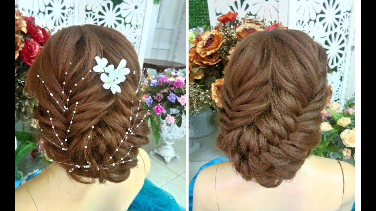 Xuân Quý hướng dẫn tết tóc búi thấp cho cô dâu ngày cưới