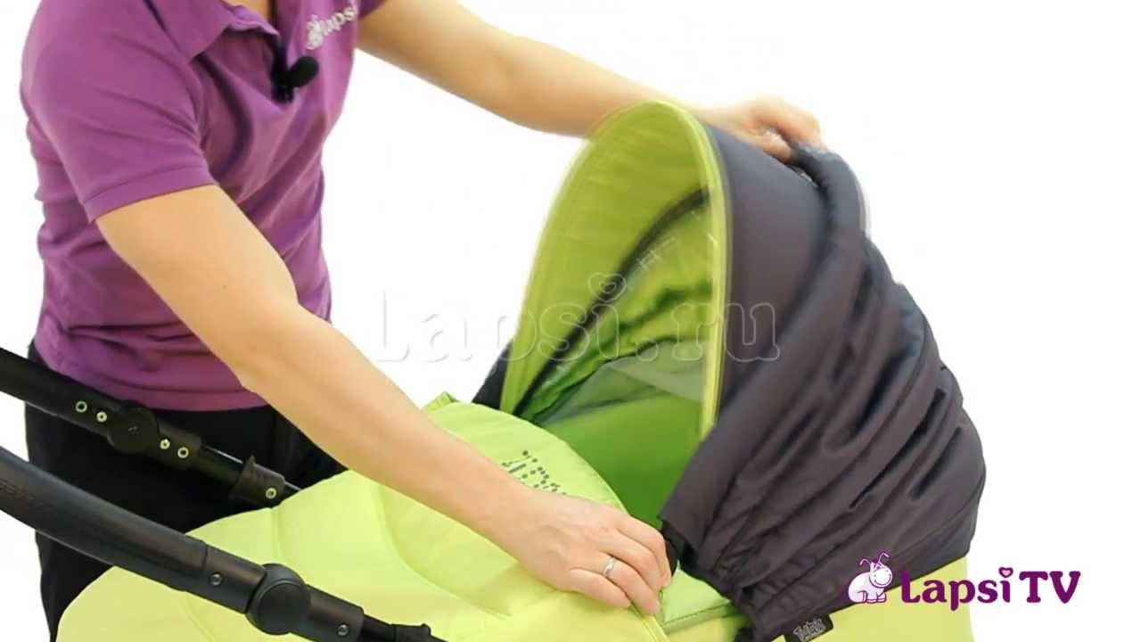 как собрать коляску трансформер после стирки
