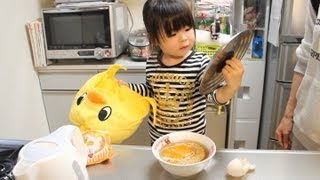 Rino cook a Chicken Ramen