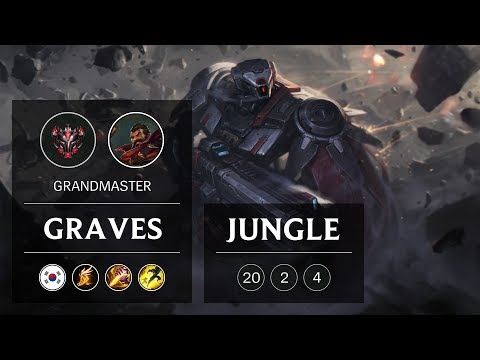Graves Jungle vs Rek'Sai - KR Grandmaster Patch 9.5