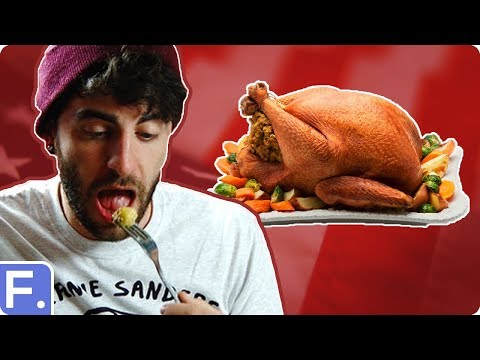 Irish People Try Thanksgiving Dinner For The First Time