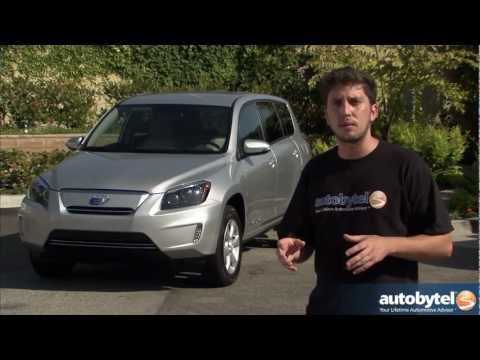 2012 Toyota RAV4 Electric Vehicle Test Drive & EV Car Video Review