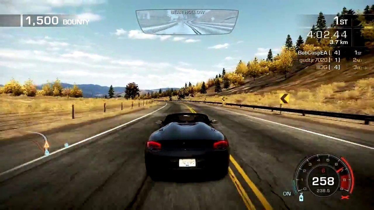Need For Speed Hot Pursuit 2010 Highly Compressed 100Mb PC ...