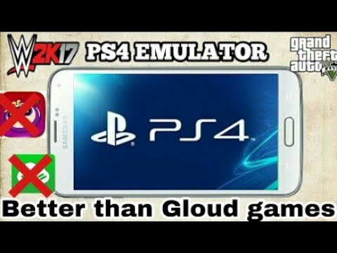 Ps4 emulator Android II Not gloud games II New emulator 2017 II REMOTE PLAY