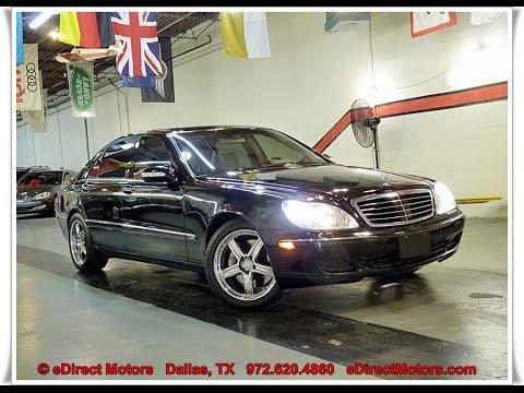 2004 Mercedes Benz S600 Edirect Motors Youtube
