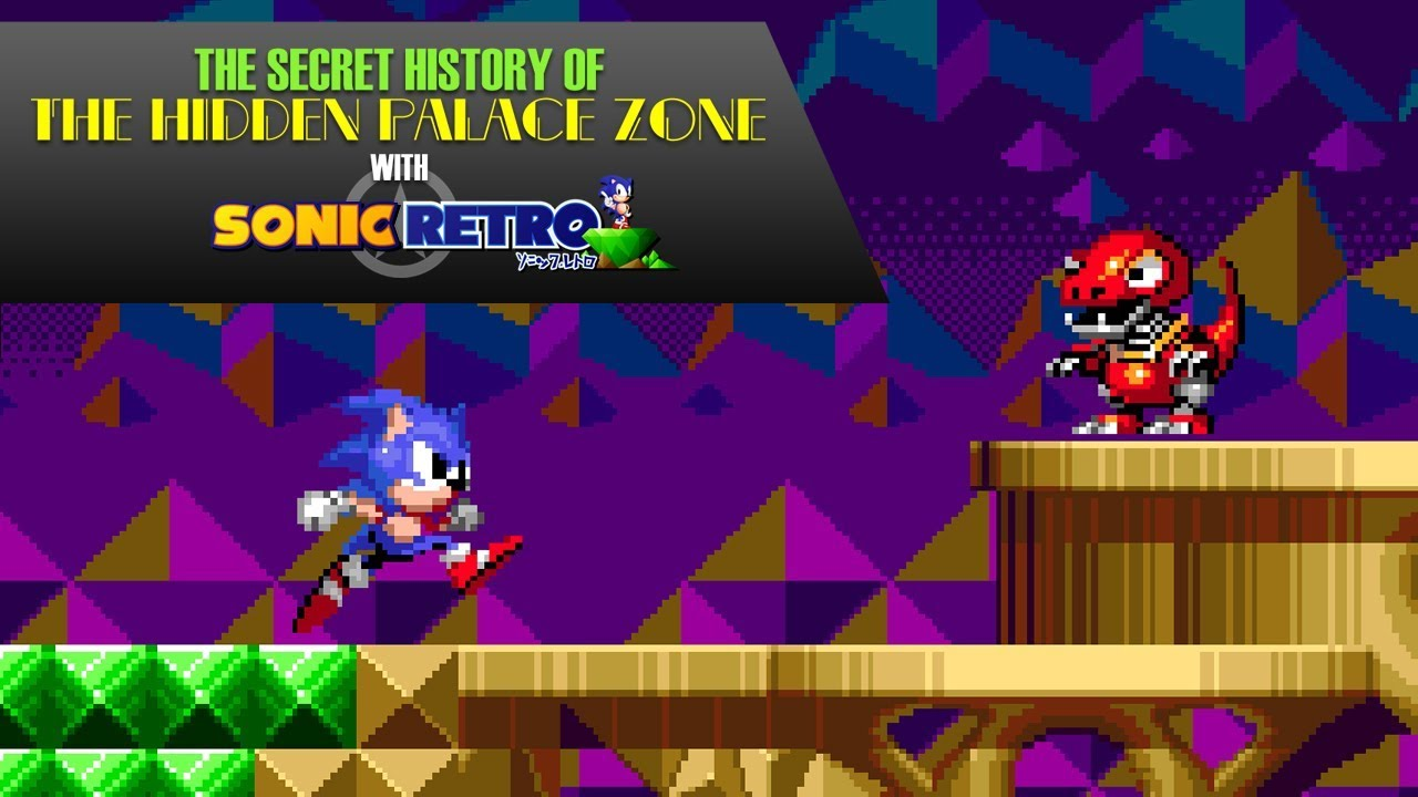 Sonic the Hedgehog: The Secret History of the Hidden Palace Zone with Sonic  Retro