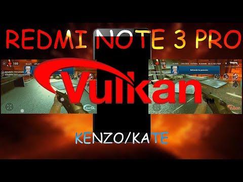 Tutorial Mejora Gráfica  Con Vulkan En Android 7 - 8 (Kenzo-Kate) -  OpenGL vs Vulkan Android