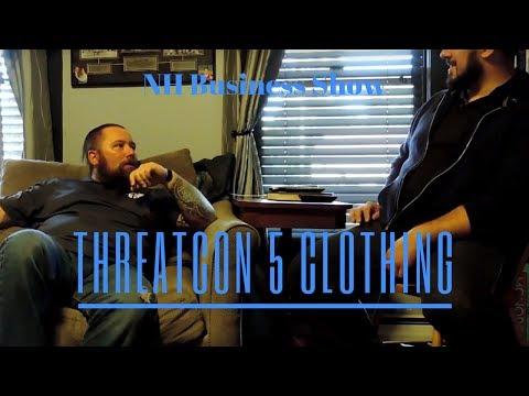 NH Business Show | Threatcon 5 Clothing - Chad Kozdra