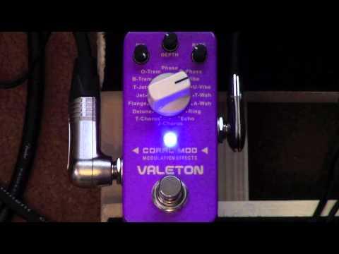 Valeton Coral Mod Modulation Pedal Demo