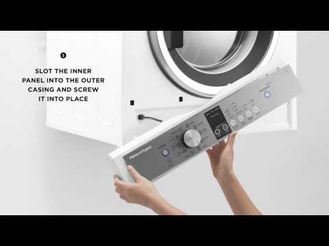How To Invert The Control Panel On Fisher & Paykel 600mm Vented Dryer | Fisher & Paykel
