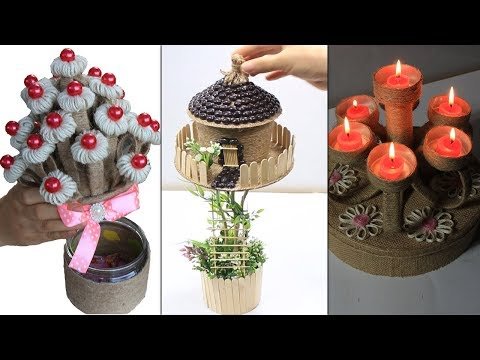 5 Home decorating ideas handmade from jute, Very useful and smart