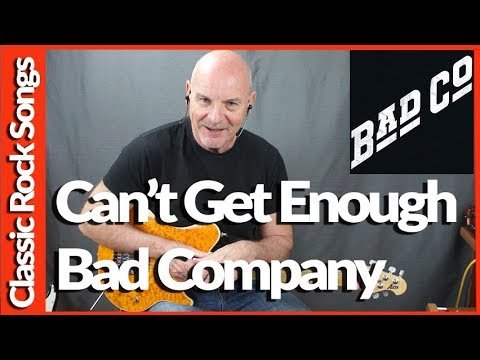 Cant Get Enough By Bad Company - Guitar Lesson Tutorial