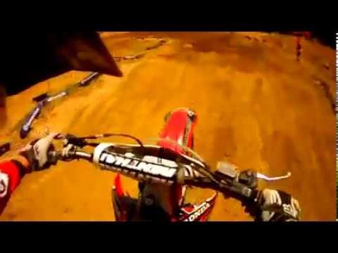 Helmet cam: Botswana's best Ross Branch_SX Track