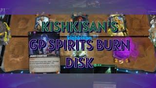 Mythgard | Green Purple Spirits Disk - kishkisan