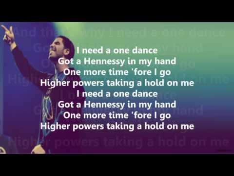 Drake - One Dance feat. Kyla & Wizkid (Lyrics Video + SONG DOWNLOAD)