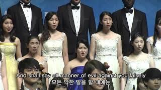 [Gracias Choir] H.R.Evans : Beatitudes / Jinyoung Park, Jeongjoon Yoon