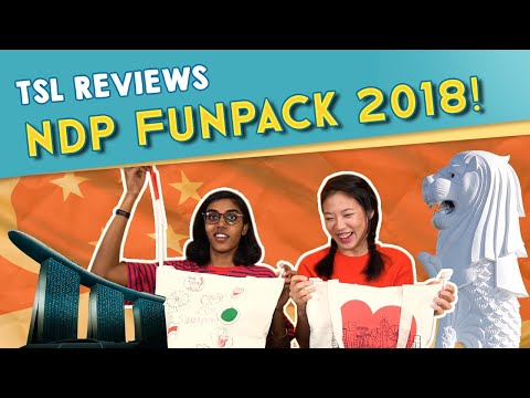 TSL Reviews - NDP FUN PACK 2018 + GIVEAWAY