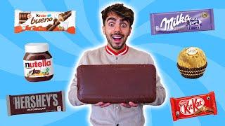 MEZCLAMOS MUCHOS CHOCOLATES PARA HACER UNO SOLO