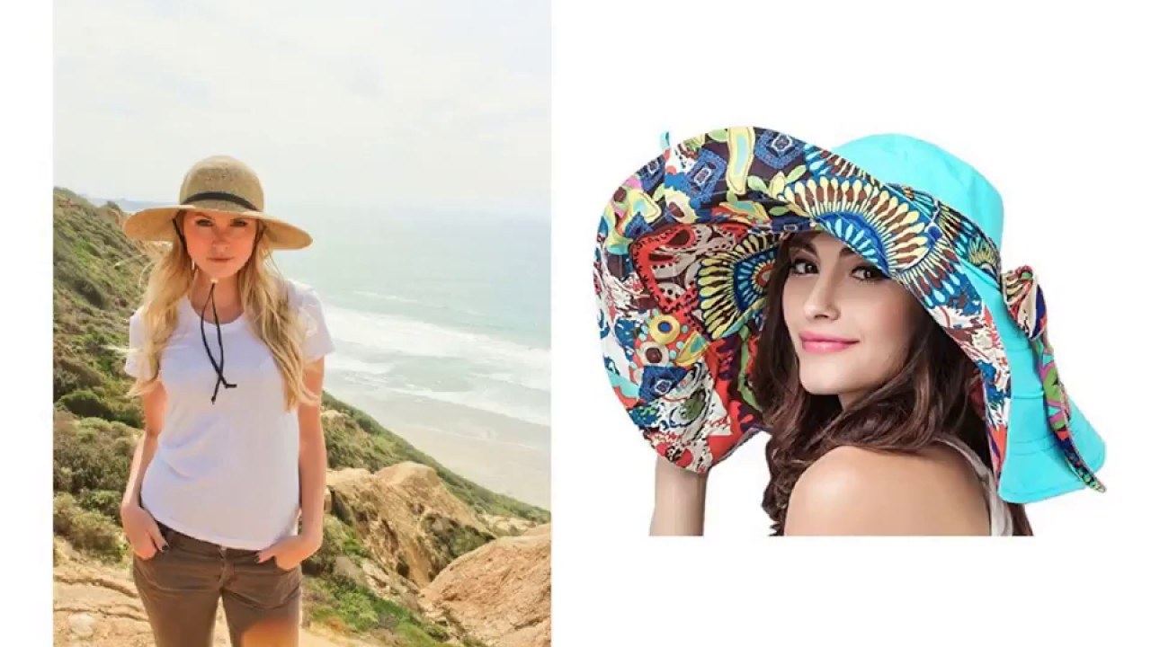 e5d1bcaeed5d23 Best Sun Hats for Travel - YouTube
