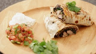 Meal-Sized Pork and Black Bean Burritos  Dollar Meals with Jack Murnighan  Babble