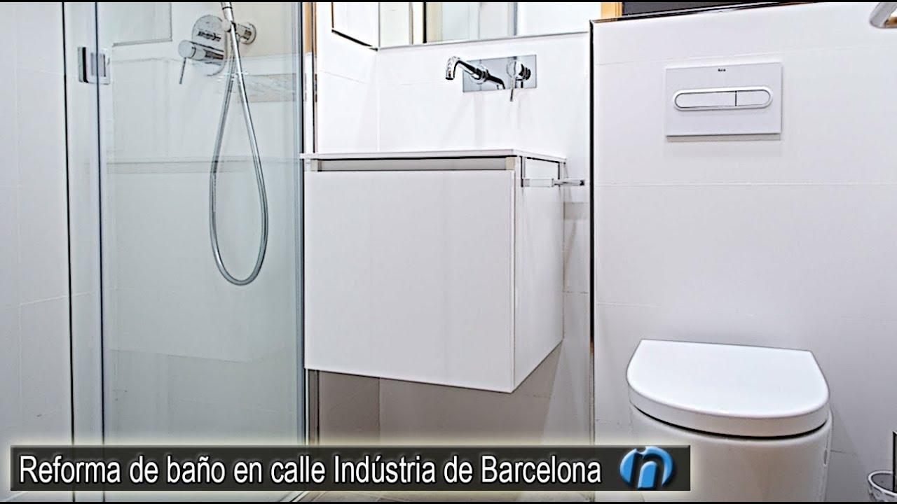 Reforma de cuarto de baño en calle Indústria de Barcelona ...