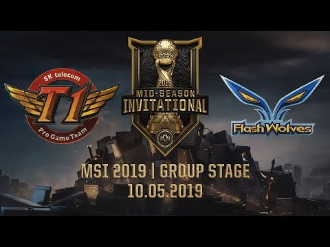 SKT vs FW [MSI 2019][10.05.2019][Group Stage]