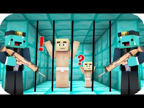 TROLL BEBEK ELMAS HAPİSHANESİNDEN KAÇIYOR! 😱 Minecraft