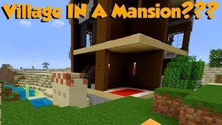 This Minecraft Ps4 Seed Is So Broken - Village In A Mansion