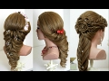 2 hairstyles for long hair tutorial