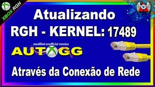 [360] • Como atualizar o Xbox RGH Para o Kernel : 17489 | Através da Conexão de Rede