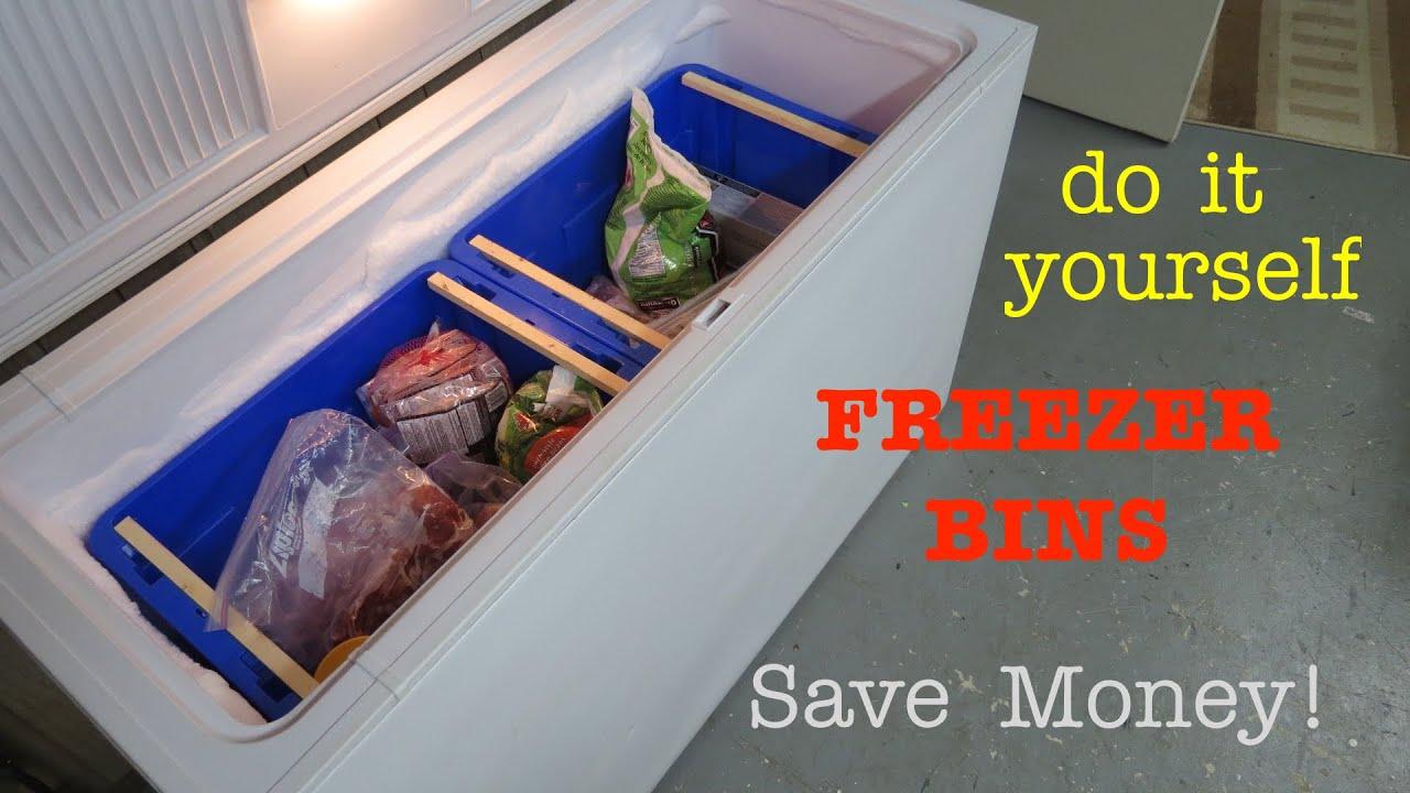 How to ○ Deep Chest Freezer Organization - YouTube