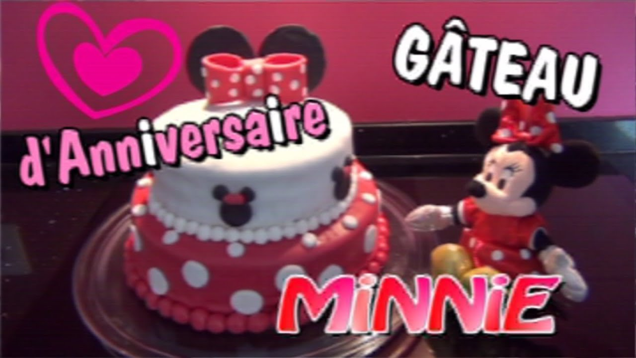 Decoration minnie gateau anniversaire - Decoration mickey anniversaire ...