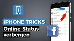 "Facebook ""Zuletzt online"" & Online Status verbergen (Messenger App) | iPhone-Tricks.de"