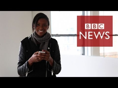 Geek chic: Model who dreams in code - BBC News