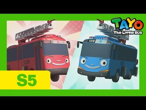 Tayo English Episodes S5 L All 26 Episodes (300 Mins) L S5 Compilation L Tayo The Little Bus