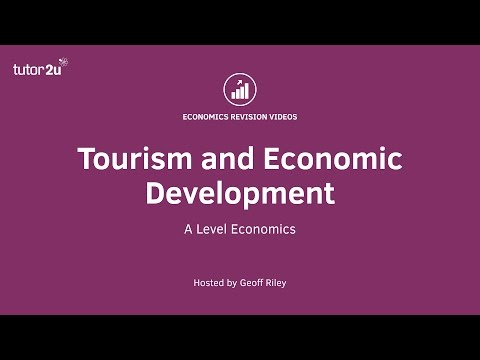 Tourism and Economic Development